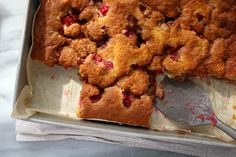 Lunar rhubarb cake 9