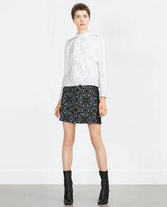 ZARA - WOMAN - PRINTED SKIRT