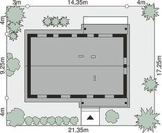 Projekt domu Dom przy Bukowej 38 96,23 m² - koszt budowy - EXTRADOM Floor Plans, Furniture, Home Decor, Houses, Home, Decoration Home, Room Decor, Home Furnishings, Home Interior Design