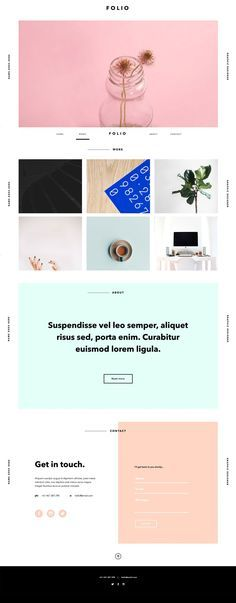 Folio, adobe muse template