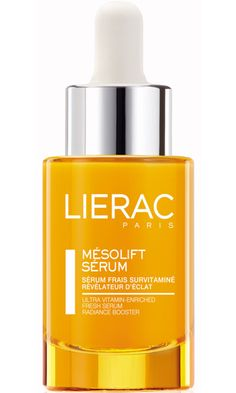 As Seen In Marie Claire: Insider skin secrets: The plastic surgeon uses a multivitamin concentrate like Lierac Mesolift Serum after cleaning and toning skin.