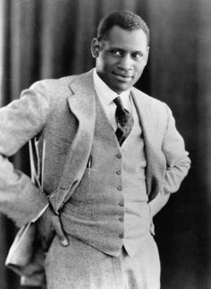 """vintageblackglamour:    Paul Robeson, majestic singer and actor, brilliant scholar and athlete, fierce political activist and all-around renaissance man, in a 1925 photo by Edward Gooch. According toShadow And Act,David Harewood, the British actor and star of Showtime's """"Homeland"""" is in talks to portray Mr. Robeson in an upcoming film.Wynton Marsalishas signed on to score the film as well."""