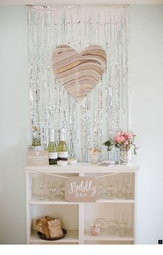 POP FIZZ CLINK // Loving this bubbly bar inspiration via From bridal showers to the morning of your special day.champagne is always a good idea. Bubbly Bar, Champagne Bar, Champagne Birthday, Dc Weddings, Unique Weddings, Wedding Trends, Wedding Styles, Wedding Ideas, Wedding Stuff