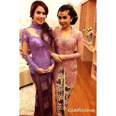 #kebaya #purple #eveninggown #gladicious