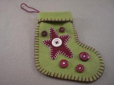 Mini Stocking Directions-Star