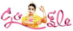 Doodleando, Los Logos de Google: Rukmini Devi homenajeada por Google