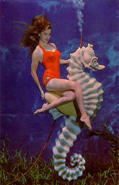 Weeki Wachee. Every little girl in Florida in the 60's wanted to be a mermaid