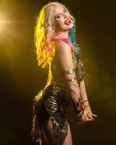 Laura Gilbert as night club Harley Quinn