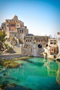 adventur, temples, pakistan, katasraj templ, beauti