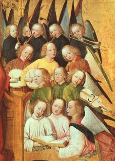 Coronation of the Virgin (ca 1463),Master of the Lyversberg Passion