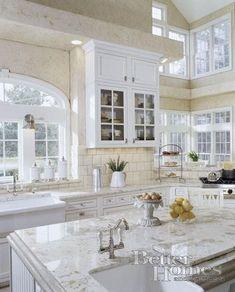 Unique Home Architecture — White Kitchen charisma design