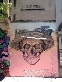 Alexis Diaz (La Pandilla) New Mural In San Juan, Puerto Rico
