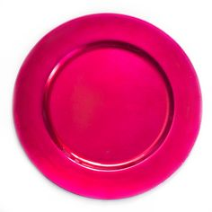 13 in. Fuchsia Charger Plates 4/pack