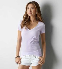 AEO Favorite V-Neck T-Shirt - Buy One Get One 50% Off