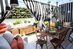 Dershowitz Backyard eclectic porch