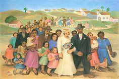 O casamento, 1940 / Tarsila do Amaral