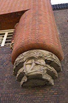 Michel de Klerk, Amsterdamse School, Het Schip, Spaardammerbuurt, Amsterdam.
