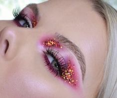 Image about art in 💜•💄MAKE UP💄•💜 by ★ on We Heart It We Heart It, Heart Sign, Halloween Makeup Looks, Blue Makeup, Find Image, Make Up, Brown, Beauty, Beautiful