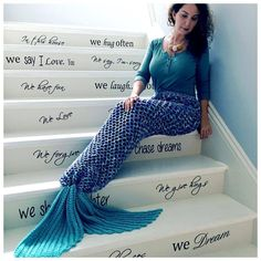 Crochet Mermaid Tail Adult Size