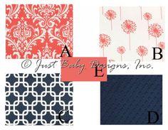Window Treatments : Just Baby Designs, Custom Baby Bedding Custom Crib Bedding Custom Nursery Bedding