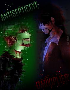 I love Dark rather than Anti :v but I very much love Anti when it comes to sassy! and yet, I love Dark with his seriousness attitude! Dark N Anti Markiplier Memes, Pewdiepie, Septiplier Comic, City Of Ember, Darkiplier And Antisepticeye, Top Of The Morning, Walking Dead Season 4, Danti, Nothing Lasts Forever