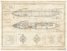 Nautilus plans by Didier Graffet #nautilus