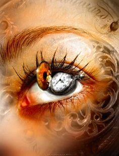 drop in some time by oneoftheclan on DeviantArt Pretty Eyes, Cool Eyes, Beautiful Eyes, Realistic Eye Drawing, Eyes Artwork, Crazy Eyes, Look Into My Eyes, Human Eye, Eye Art