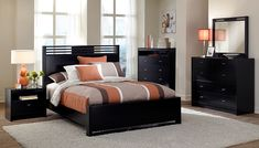 Bally Espresso Bedroom Collection - Value City Furniture-Queen Bed $229.99  #VCFwishlist
