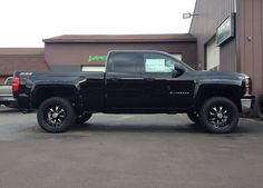 Truck builds. Lift, lower, level, accessories, steps, grilles, wheels, tires, intake, chip, exhaust, lights, interior, bed accessories, bumpers, and more.