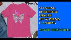 Beautiful butterfly designs for women's clothing. These and many other types of art is available with print on demand clothing and home decor products. Visit below link for more info. Butterfly Images, Butterfly Art, Butterfly Design, Outfits For Teens, Cute Outfits, T Shirts For Women, Clothes For Women, Beautiful Butterflies, Types Of Art