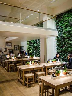 Vapiano Restaurant, Paris (France) - Targetti Lighting