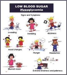 Low blood sugar symptoms #diabetes Good to finally know. I used to have this a lot. I'm lucky to be alive.