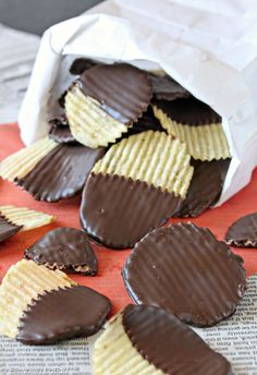 Chocolate-Covered Potato Chips | From candy.about.com