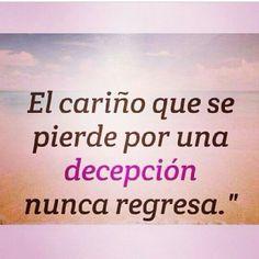 Decepcion