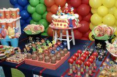 mesa festa circo