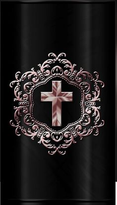 Cross Wallpaper, Rose Gold Wallpaper, Bling Wallpaper, Skull Wallpaper, New Wallpaper, Wallpaper Backgrounds, Iphone Wallpapers, Cross Coloring Page, Cross Pictures
