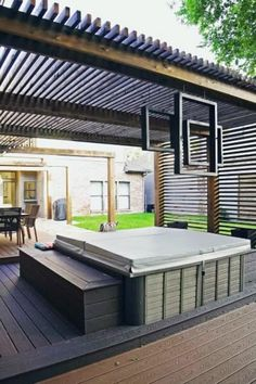 Summer calls for sultry nights under the stars and sun-drenched cocktail gatherings, making the backyard deck the ultimate destination this season.For those who desire a bit more shade and privacy while soaking up the rays, however, a deck roof may be in order. #nextluxury #homedesign #homedecor #homedecorideas