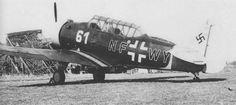 NA-57 in Luftwaffe markings