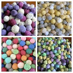 Make your own seed bombs: PDF tutorial on Etsy