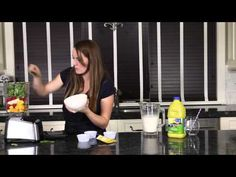 Video for Making Smoothies with Whatever You Have! This is the best way to make smoothies with the best fruit to liquid ratio! Plus tips for making it healthier! - Eazy Peazy Mealz