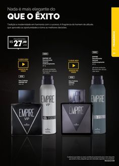 #ClippedOnIssuu from Catálogo oficial HINODE - Ciclo 2/2017 Vodka Bottle, Container, Drinks, Mary, Marketing, Design, Skinny Wrap, Men's Cologne, Better Life