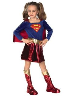 Girls Deluxe Supergirl - Child Costume, http://www.woolworths.co.uk/girls-deluxe-supergirl-child-costume/1357886521.prd