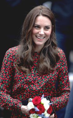 Catherine, Duchess Of Cambridge attends The Mix Christmas Party in London // December 19, 2016