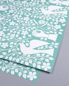 DOVE AND HAND WRAP | Lagom Design