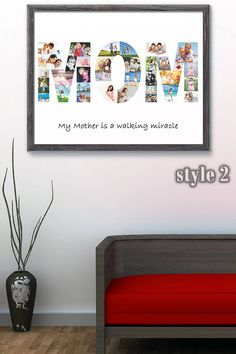 Personalized mothers day gift from daughter Mom birthday gift from son Mothers day printable Mom birthday gifts ideas Anniversary gift Mother Daughter Photos, Mothers Day Gifts From Daughter, Mother And Father, Mother Day Gifts, Gifts For Mom, Baby Gifts, Shape Collage, Word Collage, Parent Gifts