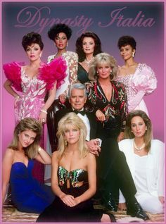 The Dynasty Cast, mid-1980's...LOVED this show. Watched it every Friday night with my sis.