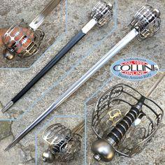 Museum Replicas Windlass  - Eglinton Basket Hilt Sword
