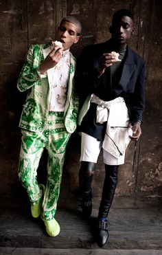 Street Dreams Harry and Chuck from Premier Model Management, lensed by Roberta Schmidt and styled by Alessandra Arzani