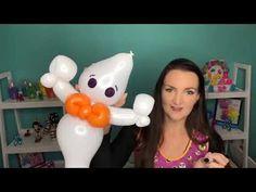 Buster the Ghost Balloon Animal Tutorial! How To Make Balloon, Love Balloon, Halloween Balloons, Halloween 1, Masquerade Party, Masquerade Masks, Gothic Fairy, Balloon Animals, Lowbrow Art