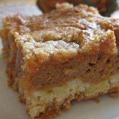 Pumpkin Pie Cake ~ watch this recipe
